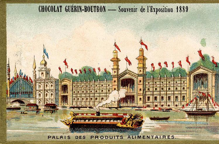 Expo Paris 1889 - Palais des Produits Alimentaires