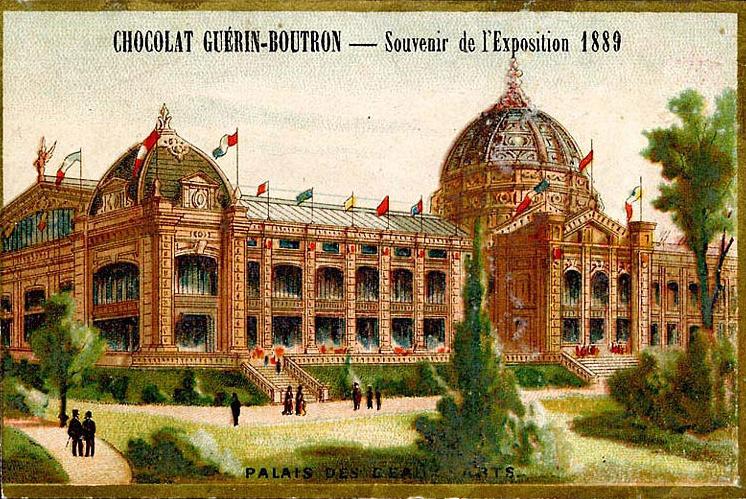 Expo Paris 1889 - Palais des Beaux-Arts