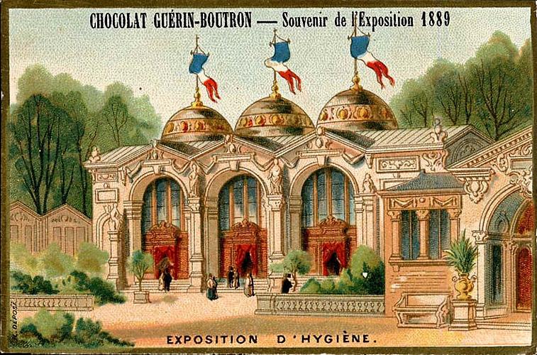 Souvenir Exposition de Paris 1889 - Exposition d hygiène