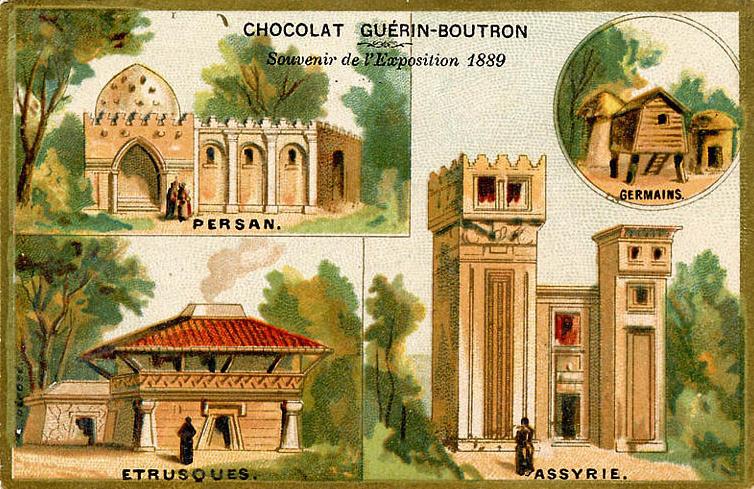 Expo Paris 1889 - Histoire de l habitation humaine