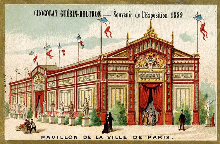 Expo Paris 1889 - Pavillon de la Ville de Paris