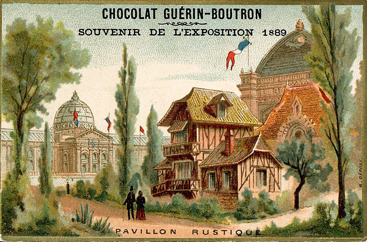 Expo Paris 1889 - Pavillon Rustique