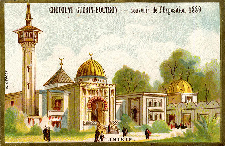 Expo Paris 1889 - Tunisie