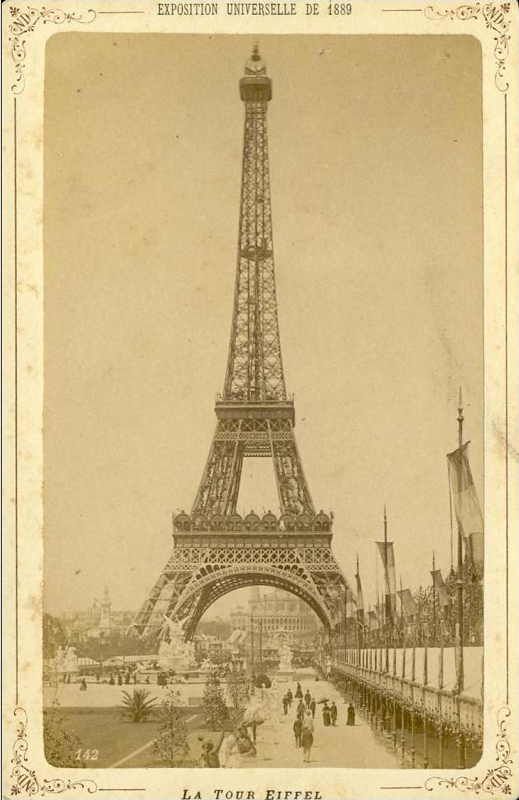 Expo Paris 1889 - Tour Eiffel 1889
