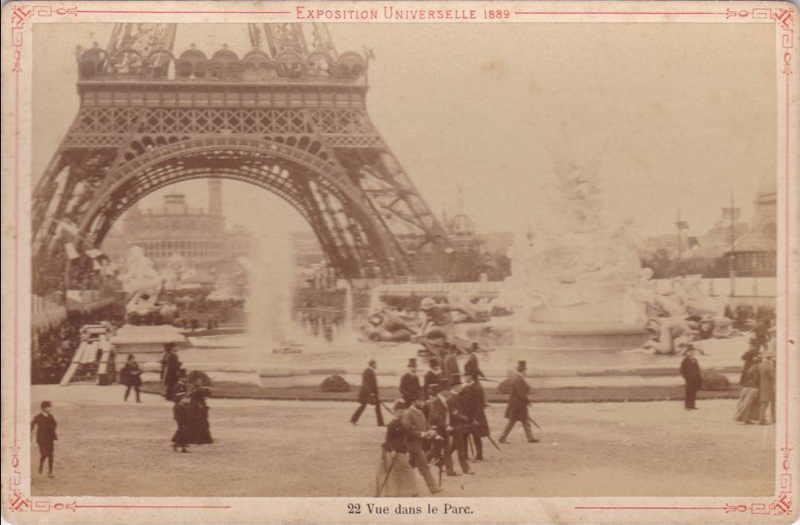 Expo Paris 1889 - Champ de Mars