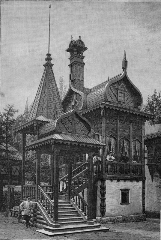 Expo Paris 1889 - Maison Russe