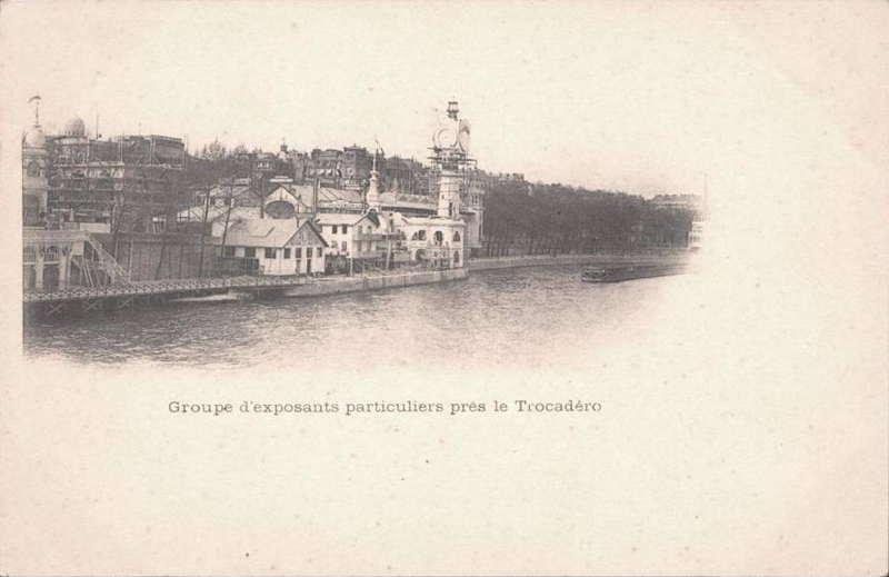 Expo Paris 1900 - Carte Postale - Pavillons de la Boulangerie et Patisserie