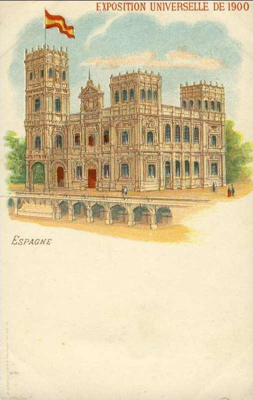 Expo Paris 1900 - Carte Postale - Pavillon de l Espagne