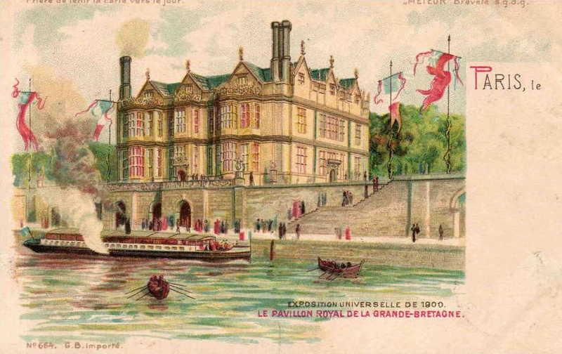 Expo Paris 1900 - Carte Postale - Pavillon de la Grande-Bretagne