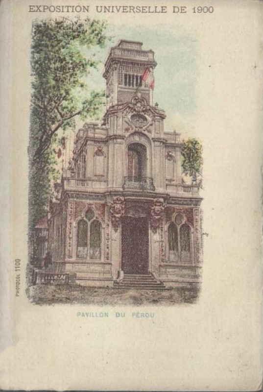 Expo Paris 1900 - Carte Postale - Pavillon du Pérou