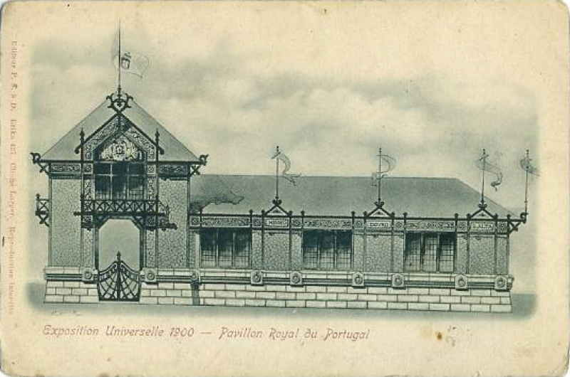 Expo Paris 1900 - Carte Postale - Pavillon du Portugal