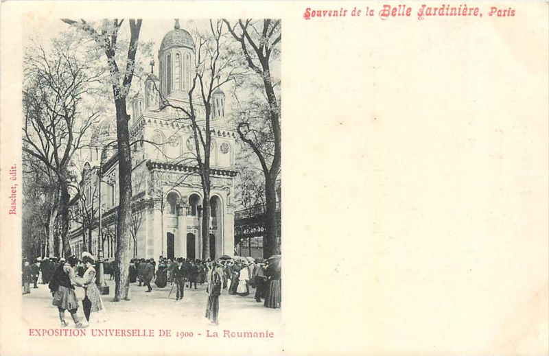 Expo Paris 1900 - Carte Postale - Pavillon de la Roumanie