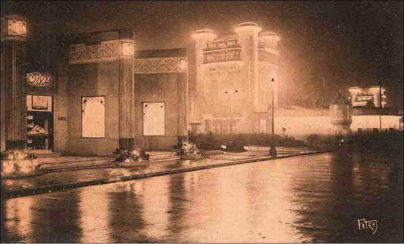 Expo Paris 1925 - Carte postale - Pavillon des Editions Crès et Cie