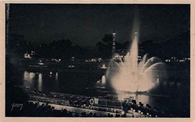 Expo Paris 1925 - Carte postale  - Péniches de Paul Poiret