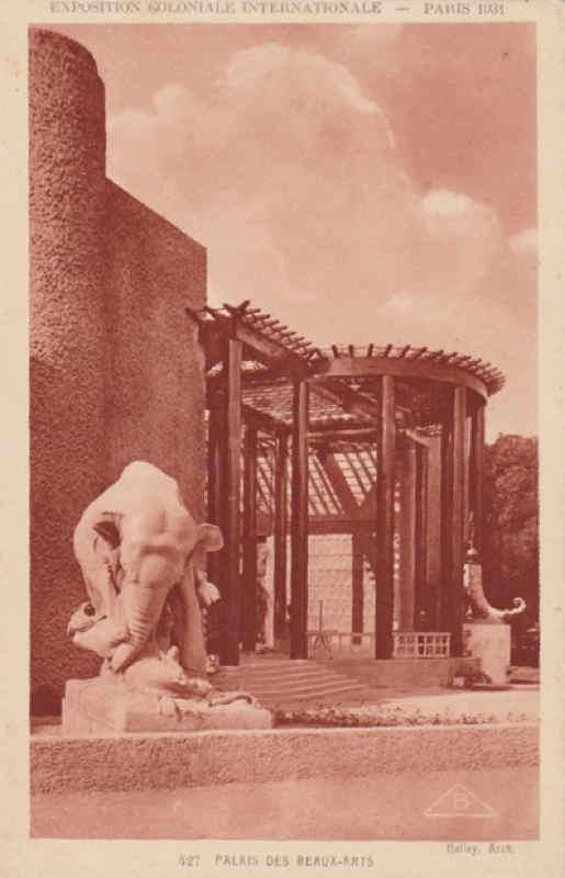 Pavillon des Beaux-Arts - Carte postale - Expo Paris 1931