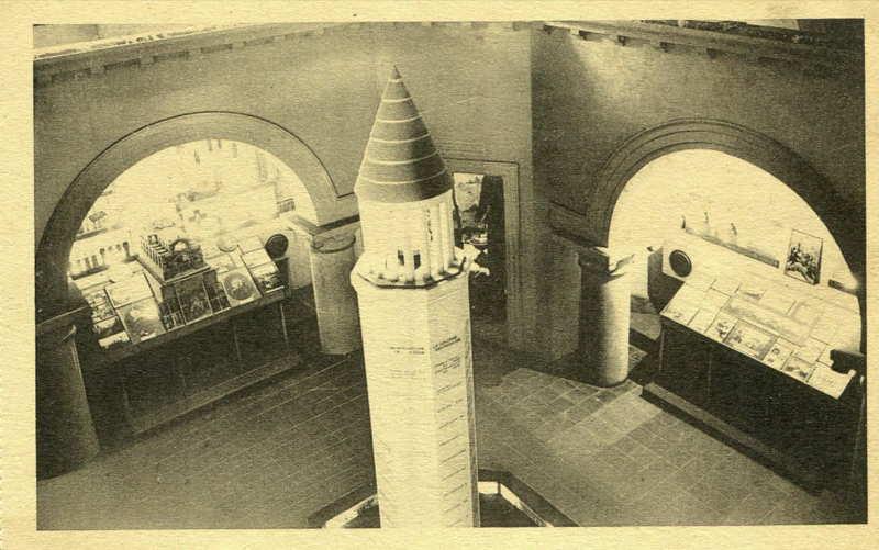 Salle de la Syrie - La Rotonde au pavillon des missions catholiques -  carte postale - expo paris 1931