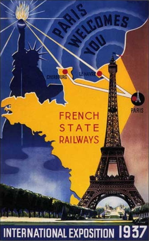 Expo Paris 1937 - Affiche