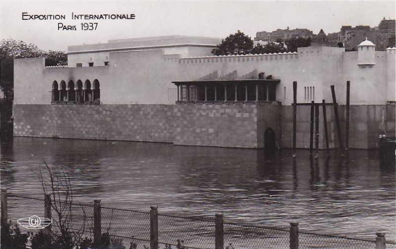 Expo Paris 1937 - Carte postale - La France d Outre-Mer - Algérie