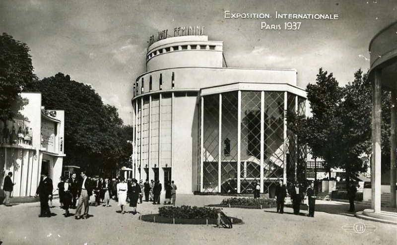 Expo Paris 1937 - Carte postale - Pavillon des Arts Féminins