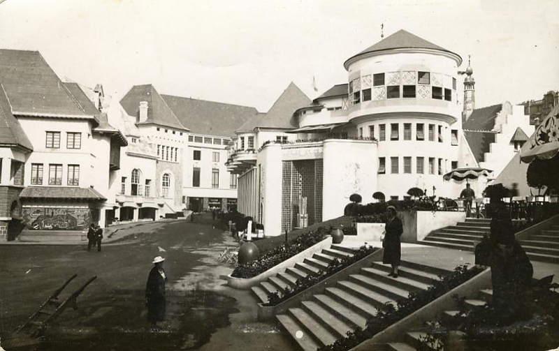 Expo Paris 1937 - Carte postale - Centre régional - Vue d ensemble