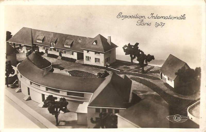 Expo Paris 1937 - Carte postale - Centre Rural