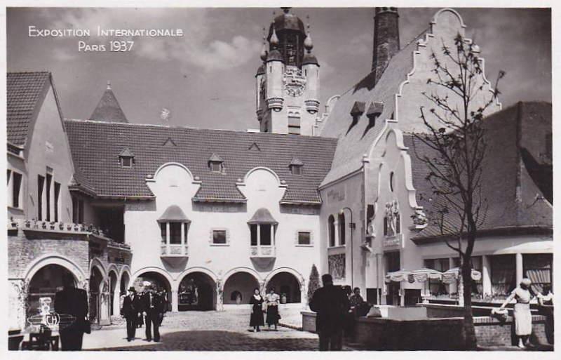 Expo Paris 1937 - Carte postale - Centre régional - Flandre - Artois