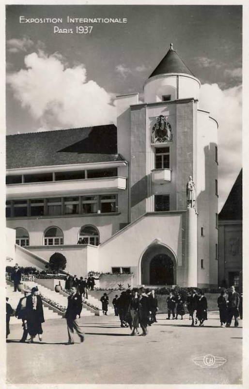 Expo Paris 1937 - Carte postale - Centre régional - Lorraine