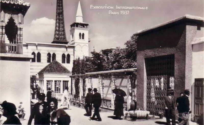 Expo Paris 1937 - Carte postale - La France d Outre-Mer - Maroc