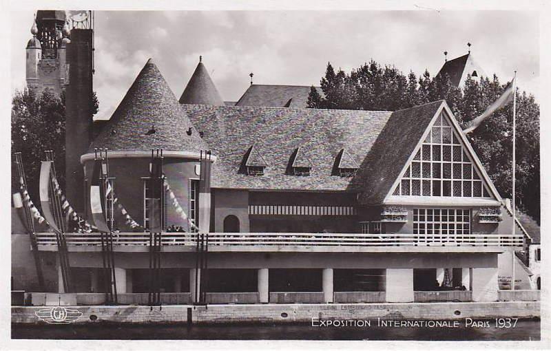 Expo Paris 1937 - Carte postale - Centre régional - Normandie
