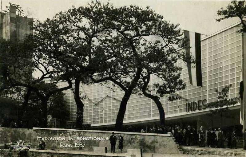 Expo Paris 1937 - Carte postale - Pavillon des Pays-Bas