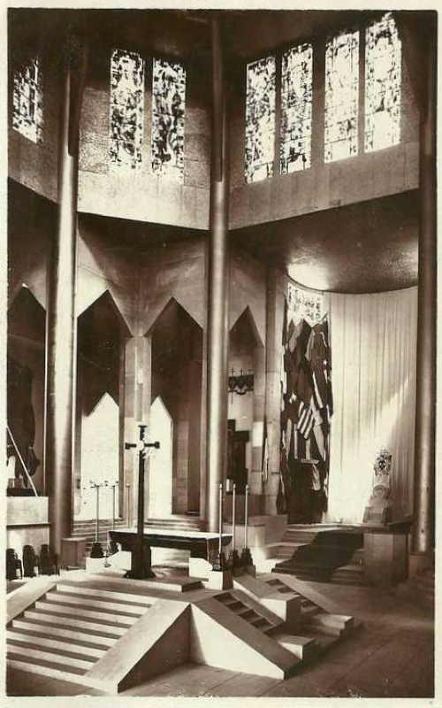 Expo Paris 1937 - Carte postale - Pavillon Pontifical