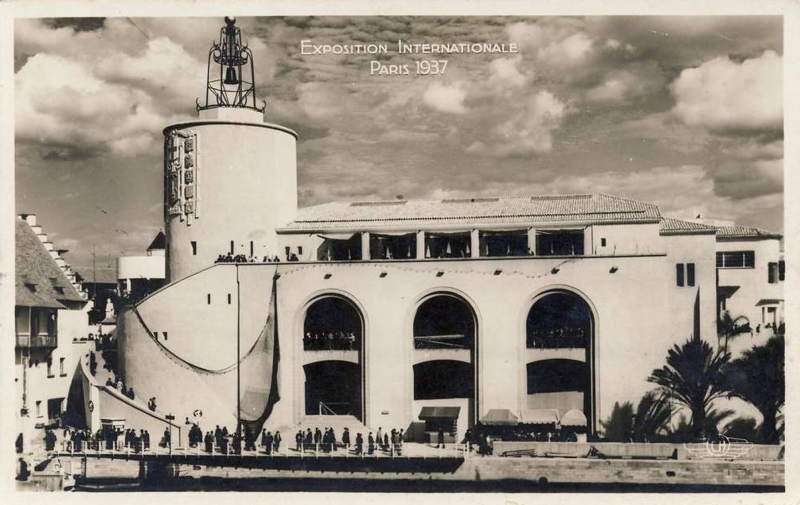 Expo Paris 1937 - Carte postale - Centre régional - Provence
