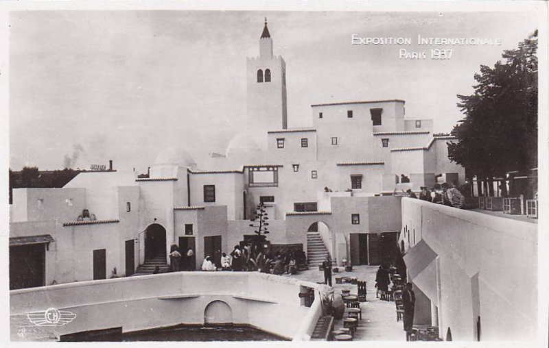 Expo Paris 1937 - Carte postale - La France d Outre-Mer - Tunisie