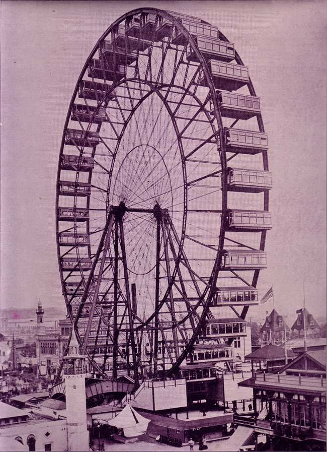 Roue de Ferris Chicago 1893
