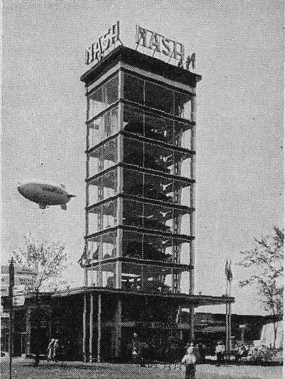 Expo Chicago 1933 - Nash Glass Tower