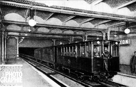 , Expo Paris 1900 - Métro
