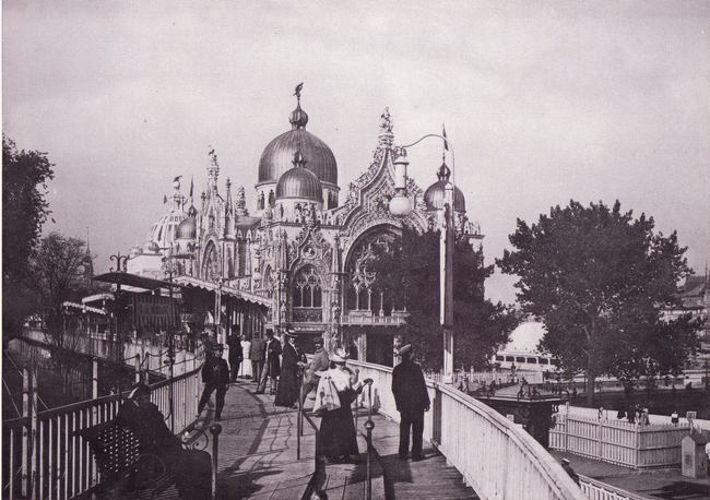 Expo 1900 - Trottoir mobile