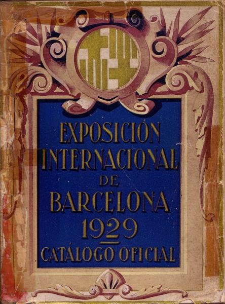 Book - Exposicion Internacional de Barcelona 1929-Catalogo Oficial