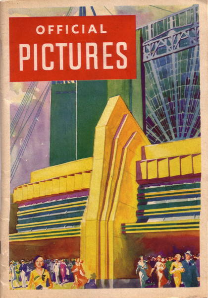 Book - Official Pictures of A Century of Progress Exposition - Chicago 1933