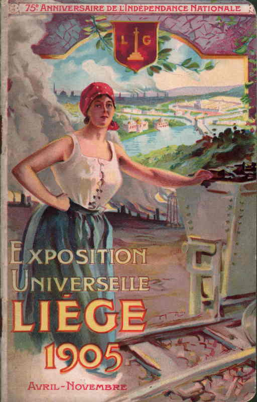 Livre - Fascicule  Exposition Universelle Liège 1905
