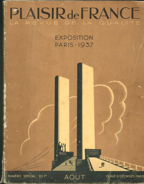 Plaisir de France - la revue de la qualié - Exposition Paris 1937