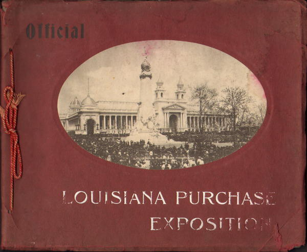 Book - Official - Louisiana Purchase Exposition