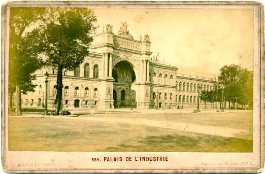 Palais de l industrie de 1855