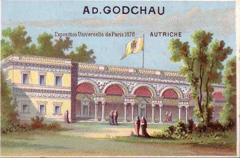 Exposition Universelle de Paris 1878 Pavillon de l Autriche - Rue des Nations