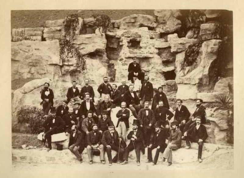 Construction de l Exposition Universelle de Paris 1878