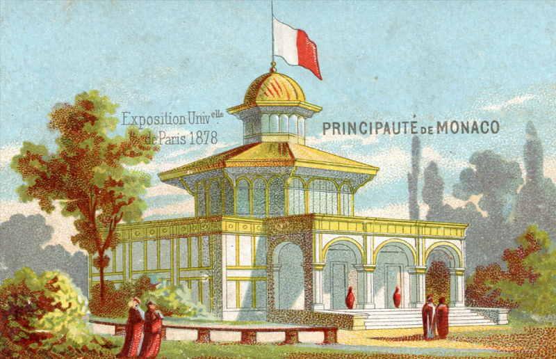 Exposition Universelle de Paris 1878 pavillon de la Principauté de Monaco