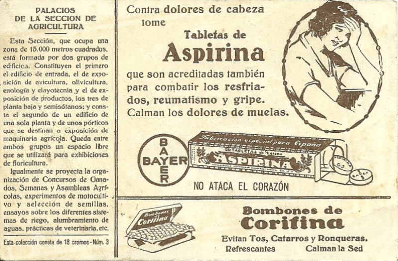 Expo Barcelona 1929 - Advertisement - Farmacia