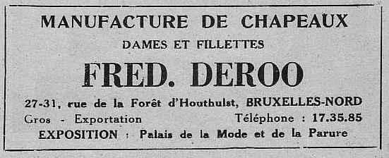 Expo Bruxelles 1935 - Publicité - Fred Deroo