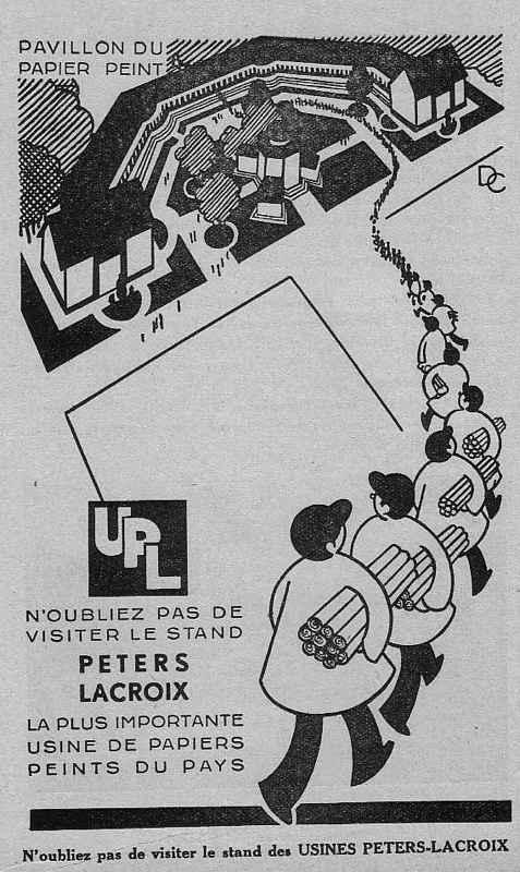 Expo Bruxelles 1935 - Publicité - Peters Lacroix