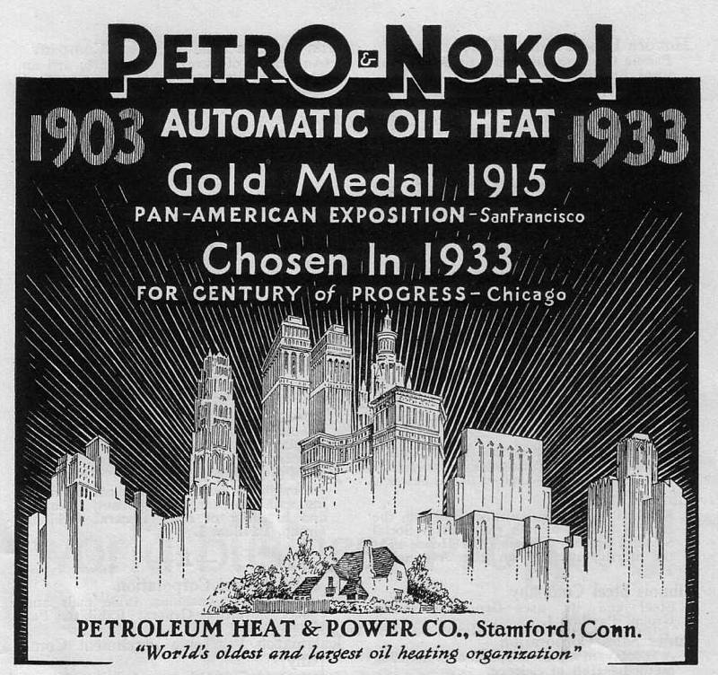Expo Chicago 1933 - Advertisement - Petro and Nokol